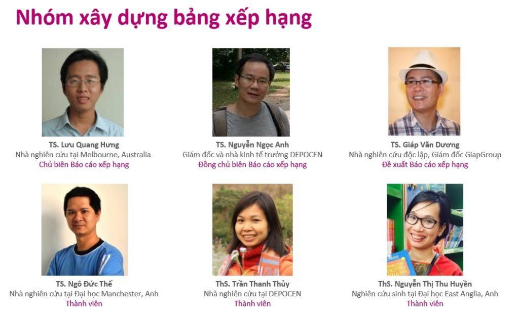 Nhóm chuyên gia công bố bảng xếp hạng các trường đại học Việt Nam